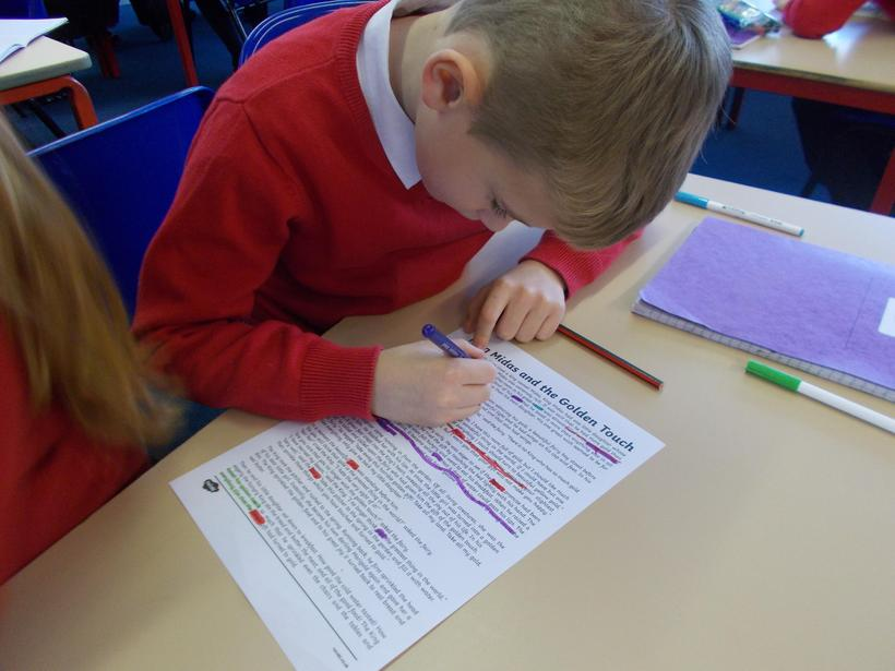 We have been learning about Myths and Legends.
