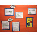 Year 5's Writing Wall
