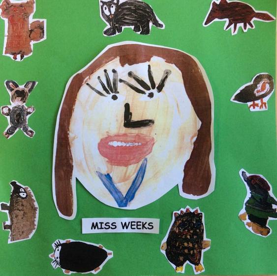 Miss Weeks Year 1 Teacher