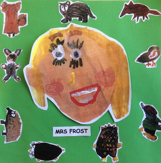 Mrs Frost Year R Teacher