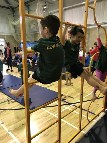 We enjoyed taking part in the Gymnastics festival
