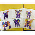 A selection of our elephants!
