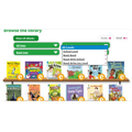 Click on Levels to choose your child's book band colour and see a selection of ebooks.