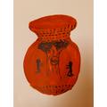 Michaela's Greek pot