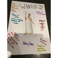 Grace's Wanted poster