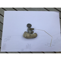Cara's stone art