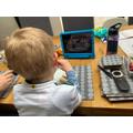 Dylan home schooling.