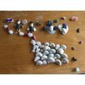 Sara's stone art