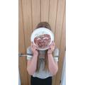 Jasmin's mask