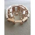 Ben's model of Stonehenge