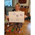 Hazels' amazing spirographs!
