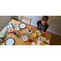 Luca's Greek lunch