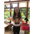 Olivia's VE Day Ration Book