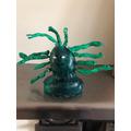 Isobel's Medusa statue