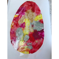 Willow's beautiful egg.