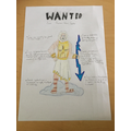 Zac's wanted poster