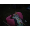 Mahala created an outdoor cinema