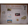 Zac's leaflet on the Greeks