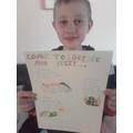 Thomas's holiday brochure