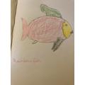 The Rainbow fish by Jazmin.