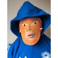 Liam's Greek mask