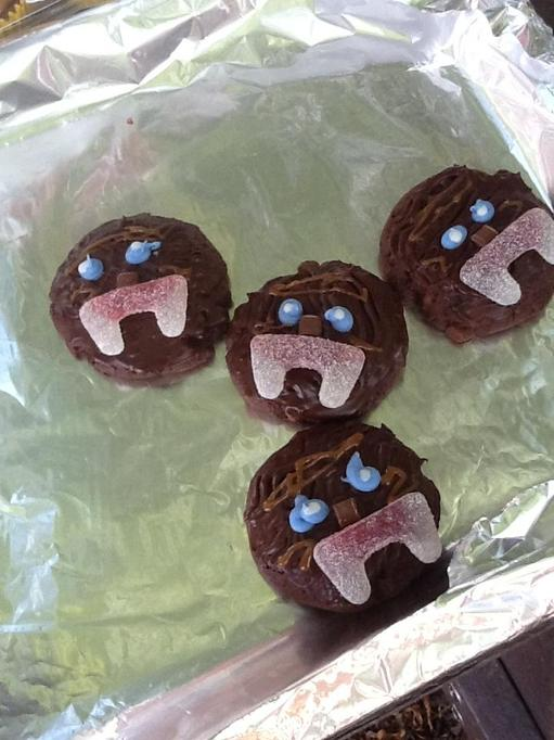 Chewbacca homemade biscuits!