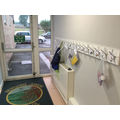 One of the Y3 cloakroom areas