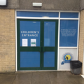 This is the Children's Entrance