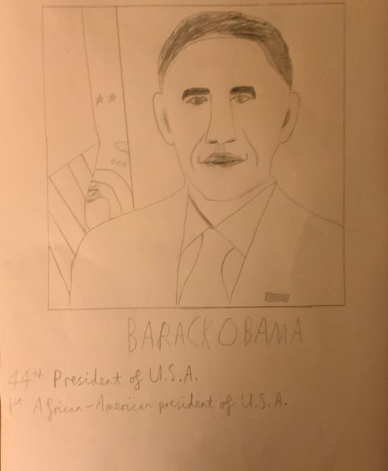 Barak Obama by Joel