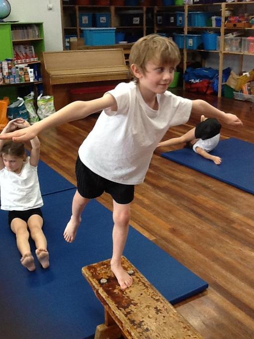 P.E. - Gymnastics - Can you balance?