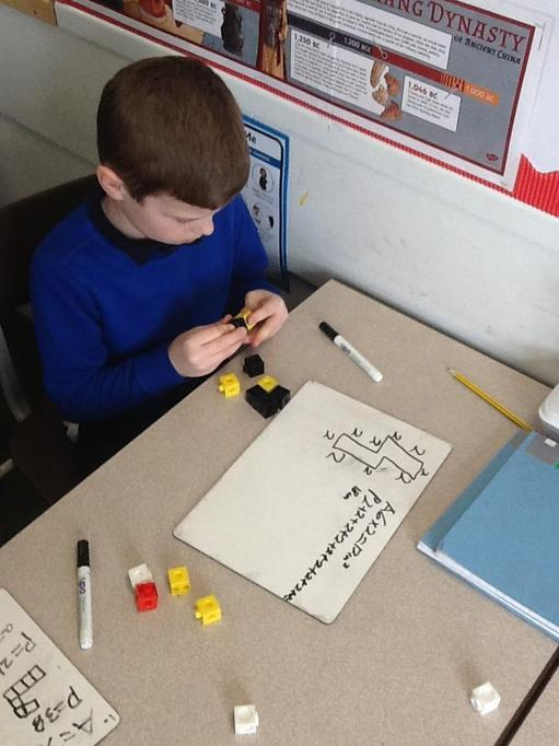 Maths - Using equipment to help solve problems