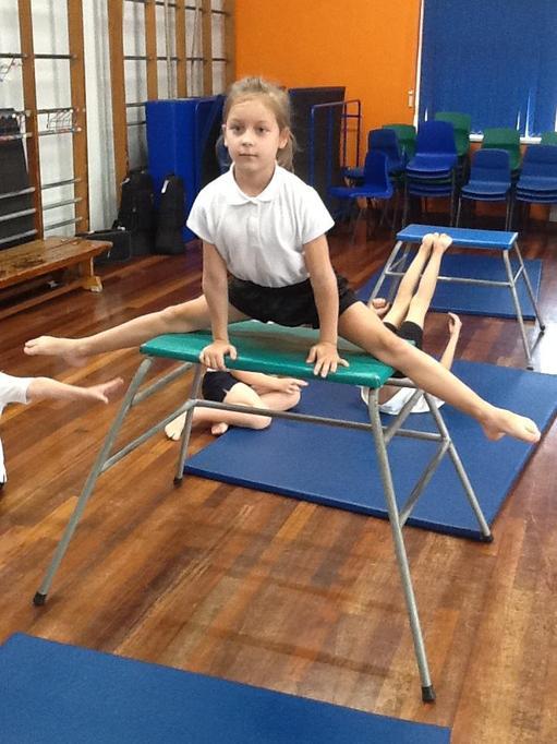 P.E. - Gymnastics - What shapes can you create?