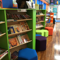 Our library area