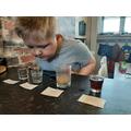 Finn's dissolving experiment