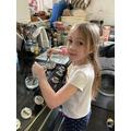 Matilda's dissolving experiment