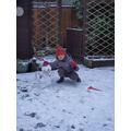 Snowman by Aleksander