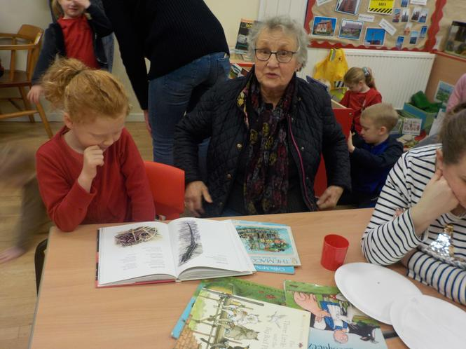 Mrs Watson joined us with some of her favourites.