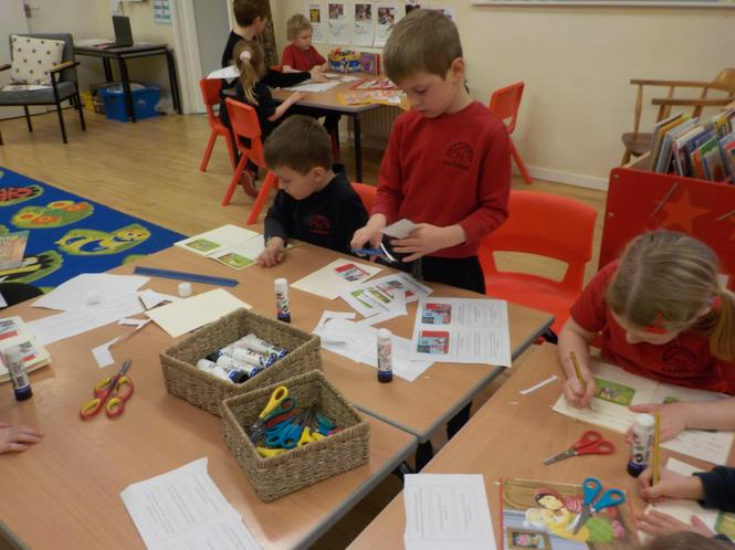 Busy sequencing the story.