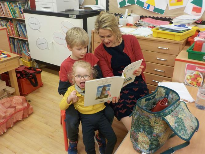 Even Rose found time to share her favourite story.