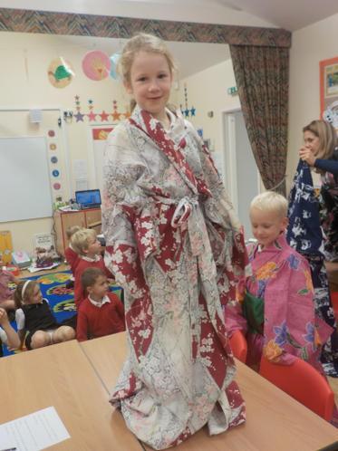 Kimono time!