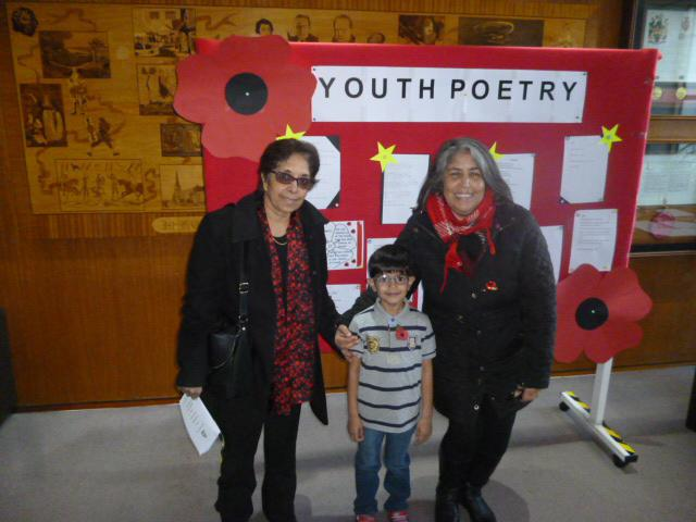 Mayor's Remembrance Day Poetry Competition