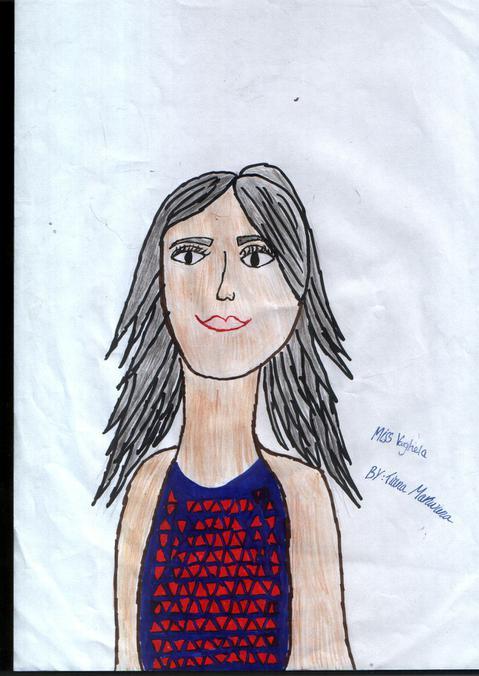 Miss Vaghela, Year 2 Hazel Teacher