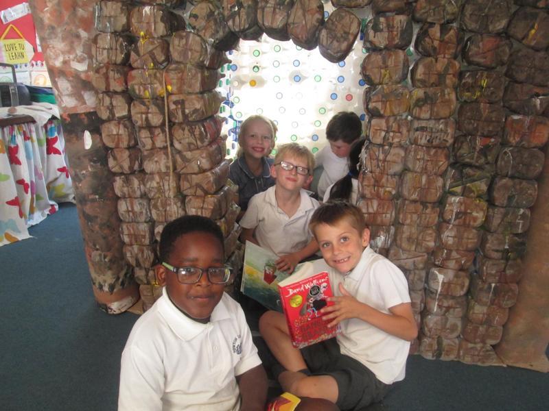 Reading Area - Milk Bottle Castle
