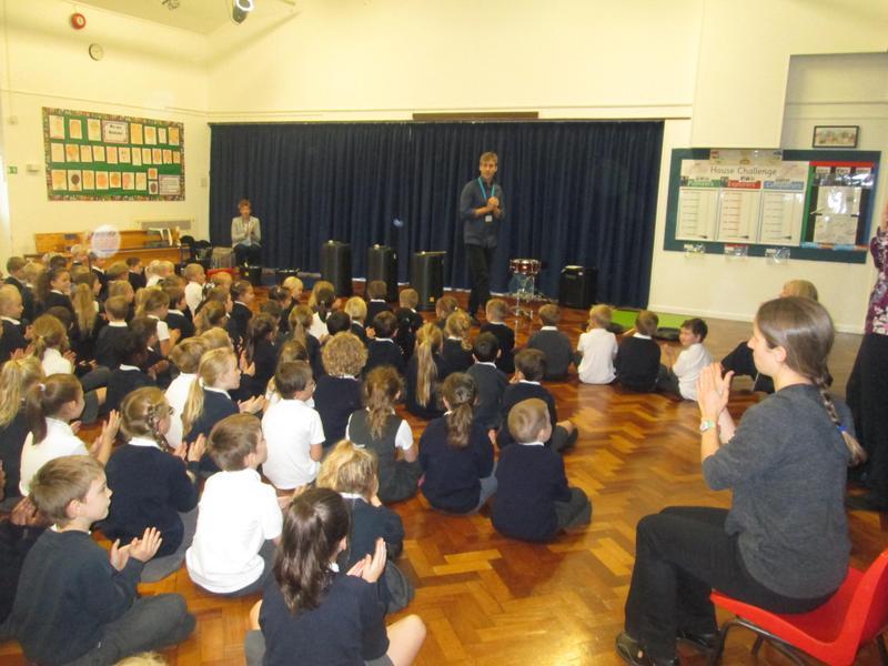 Whole School Drumming with Bucks Music Service