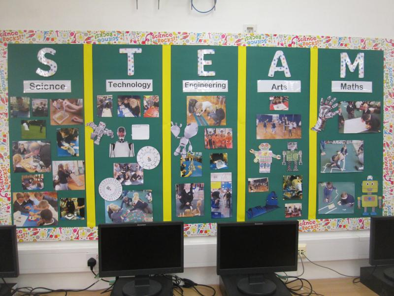 Whole School Display - STEAM Week