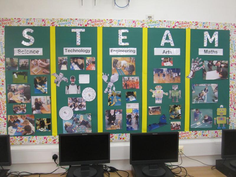 Whole School Display - STEAM Week