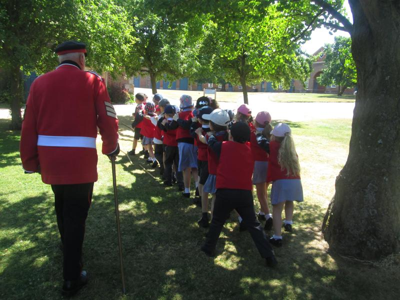Claydon House - Soldiers Experience