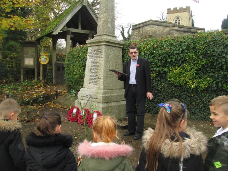 Remembrance Service with Rev Faulks