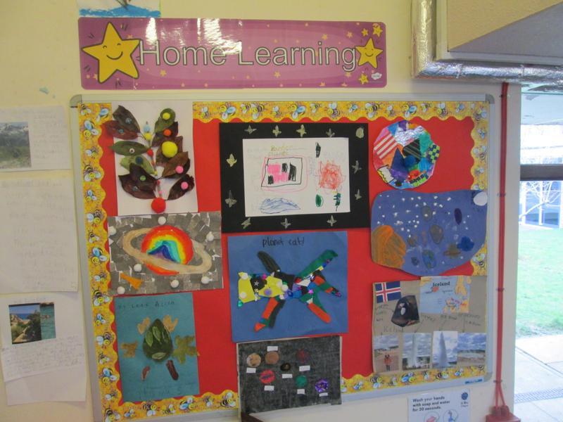 Home Learning Display - KS1