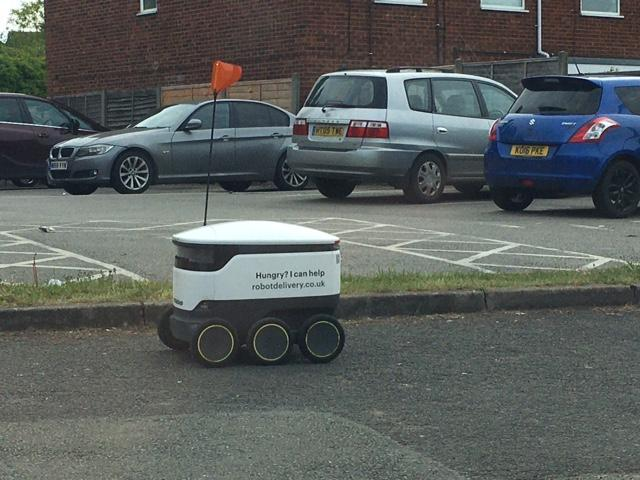 Starship Robots - local delivery service